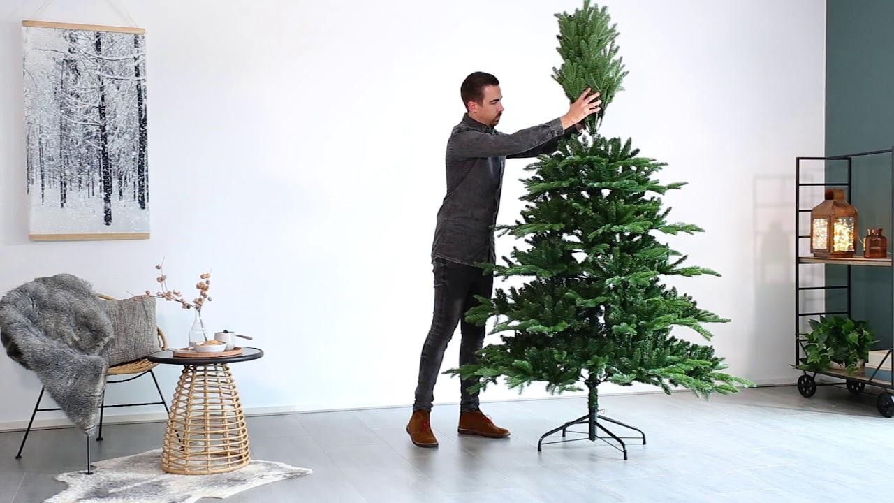 Cómo Armar El árbol Artificial Noble Pine Youtube
