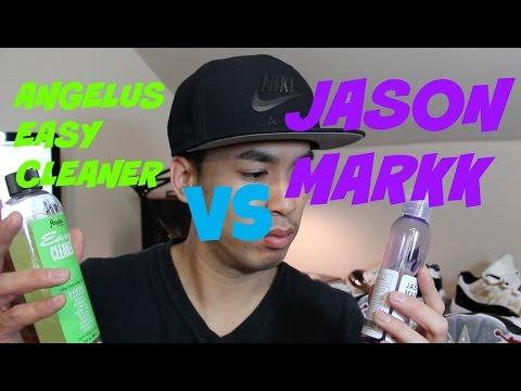 Angelus Easy Cleaner vs Jason Markk Comparison + Review