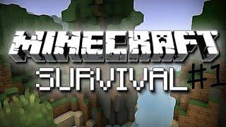 Minecraft Survival - Bölüm 1- Ev Yaptım