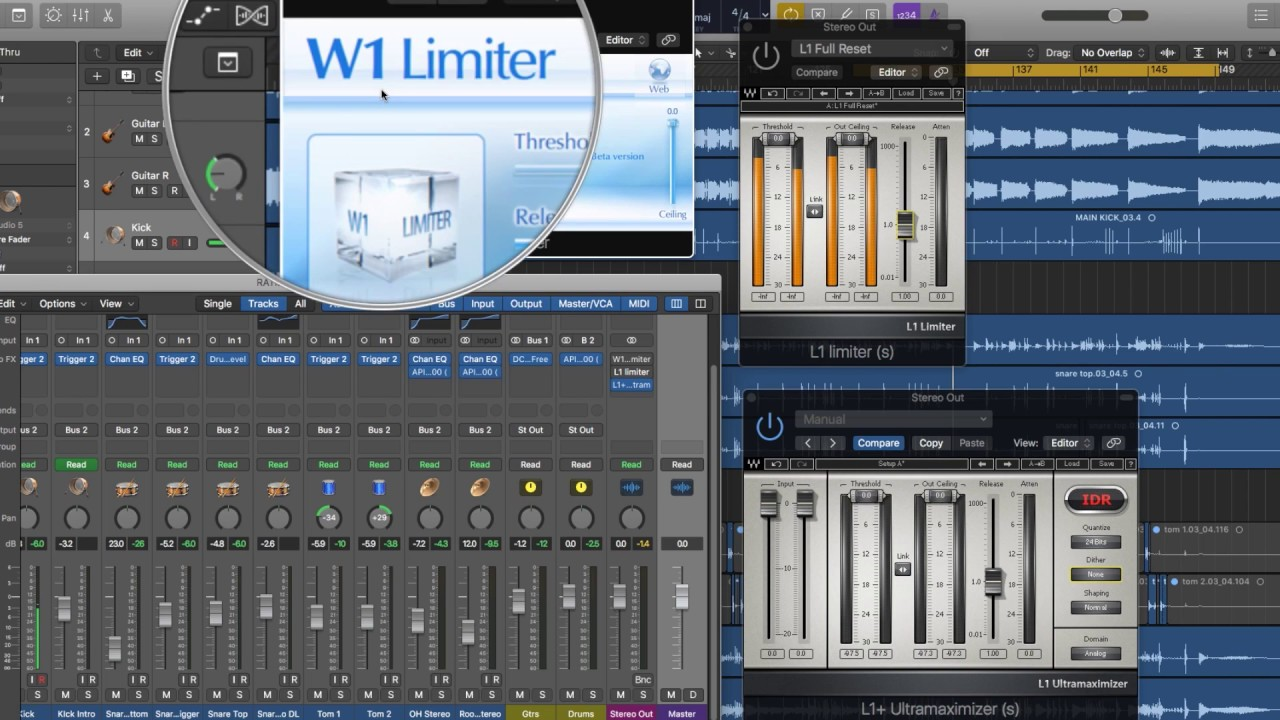W1 Limiter - FREE ALTERNATIVE to WAVES L1 | FREE PLUG-IN WEEKLY