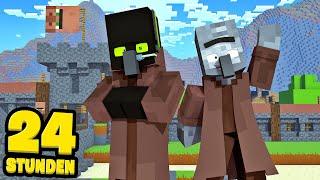 24 STUNDEN als VILLAGER LEBEN! - Minecraft [Deutsch/HD]