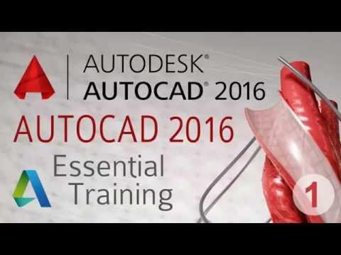 AutoCAD 2016 Essential Training part 1