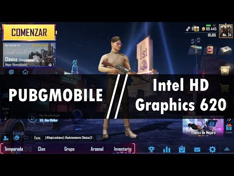 PUBG Mobile On Intel HD Graphics 620 L GAMEPLAY