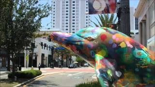 CLEARWATER FLORIDA, DOWNTOWN AT CLEVELAND STREET MAY 20, 2013 (VIDEO)