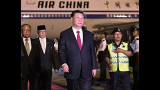 President Xi arrives in Brunei for state visit | CCTV English
