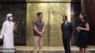 Raffles Dubai Falconry Experience