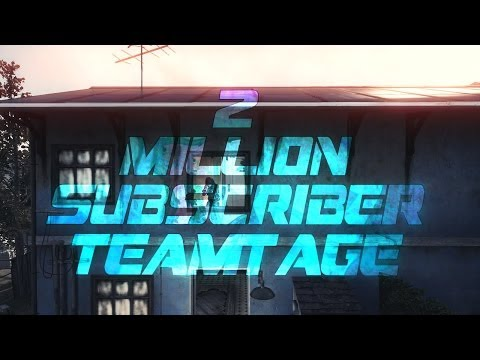 FaZe: 2 Million Subscribers Teamtage by Gumi