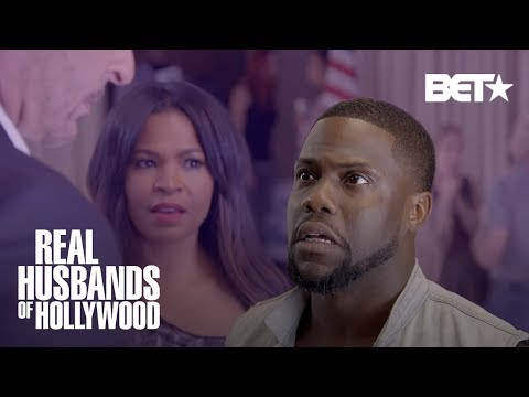 This Kevin Hart and Nia Long  Was Too Steamy!  Real Husbands of Hollywood
