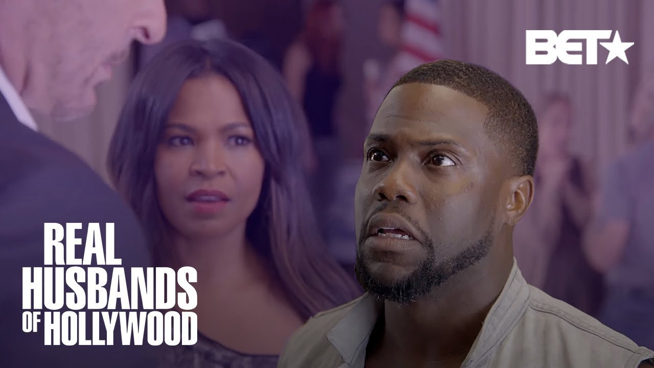 Download This Kevin Hart and Nia Long Scene Was Too Steamy!   Real Husbands of Hollywood