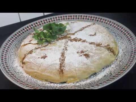 Hähnchen Pastilla -