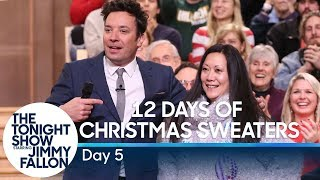 12 Days of Christmas Sweaters 2019:Day 5