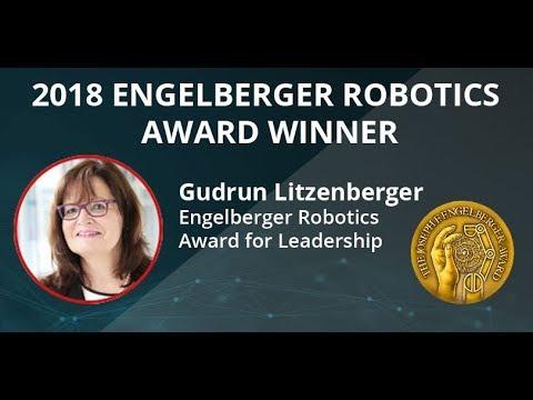 2018 Engelberger Robotics Award  Gudrun Litzenberger