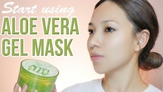 Why you should use Aloevera gel Mask Everyday | The key to soft & clear skin | GDiipa Skincare