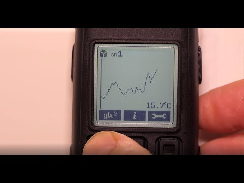 Lascar EasyLog EL-GFX-DTP+ Dual Channel Temperature Data Logger