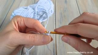 (crochet) How To - Slip Stitch in Crochet - Absolute Beginners