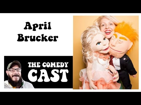 Comedt Podcast | The Comedy Cast  with American Comedian  April Brucker