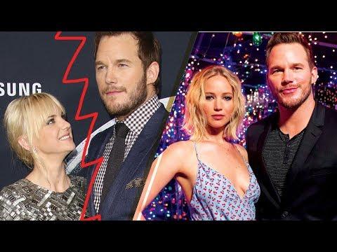 BREAKING: Chris Pratt & Anna Faris SPLIT; Was Jennifer Lawrence the Reason!?