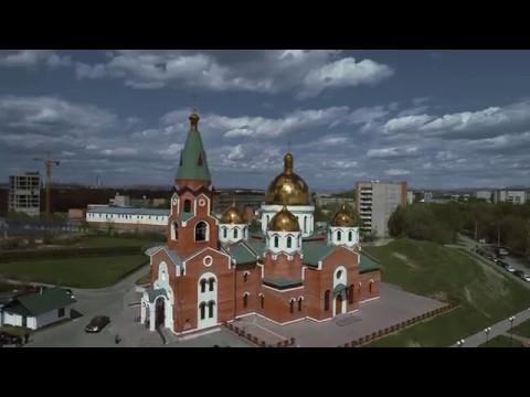 2017-05-08 Усть- Каменогорск. Прибытие Семистрельной иконы.