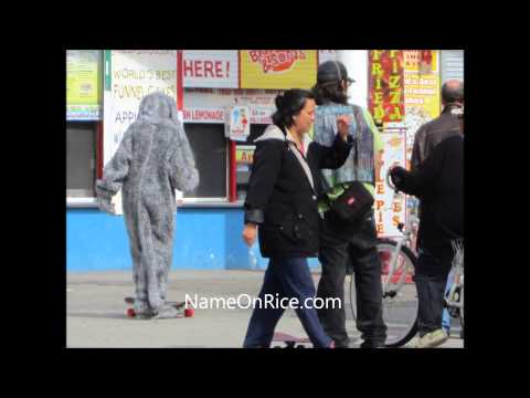 FILMING WILFRED AT VENICE BEACH WITH ELIJAH WOOD DORIAN BROWN FIONNA CALIF MARCH 6, 2013