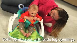 Smyths Toys - Fisher-Price Rainforest Sit-Me-Up Floor Seat