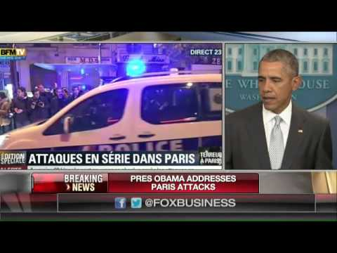 Obama: Paris attacks' outrageous attempt to terrorize innocent civilians'