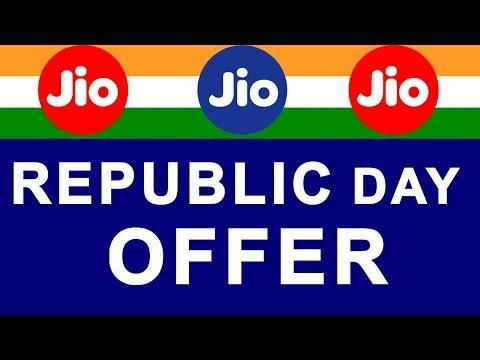 Reliance JIO Republic Day OFFER 2018 | GET 2 GB DATA in ₹98 JIO Recharge Tariff Plan