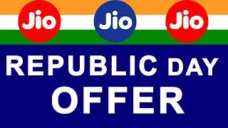 Reliance JIO Republic Day OFFER 2018 | GET 2 GB DATA in ₹98 JIO Recharge Tariff Plan thumbnail