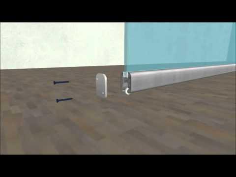 видео: Установка раздвижной системы vitrum space
