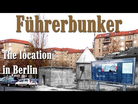 Hitler's Führerbunker. The location in Berlin