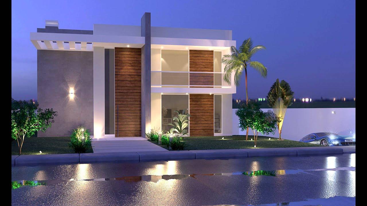 Dise os de casas dise os de casas peque as de dos for Casas modernas de dos plantas pequenas