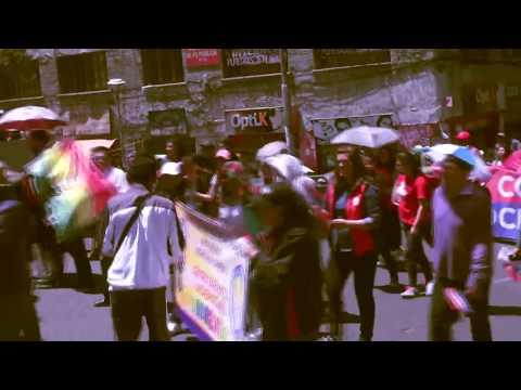 MARCHA CONTRA EL ECOCIDIO En La Paz