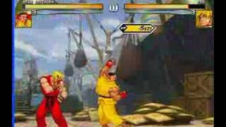 Mugen fights (Student, surpass the master)