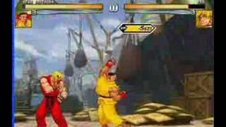 Mugen fights (Student, surpass the master)