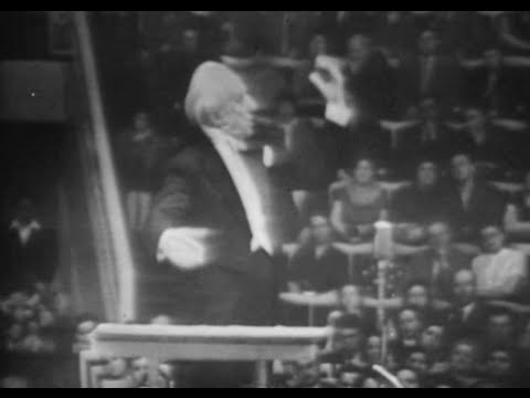 Leopold Stokowski conducts Falla & Wagner Prelude and Liebes