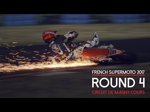 [LUC1] French Supermoto 2017 Round 4 Magny Cours