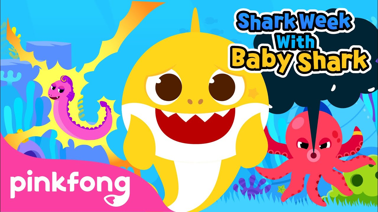 Meet the Naughty Ocean Friends | Shark Week with Baby Shark | Pinkfong Songs for Children