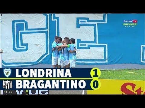 Londrina 1 x 0 Bragantino | Melhores momentos | Brasileirão Série B | 17/05/2019