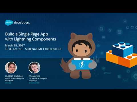 Building Single Page Apps with Lightning Components