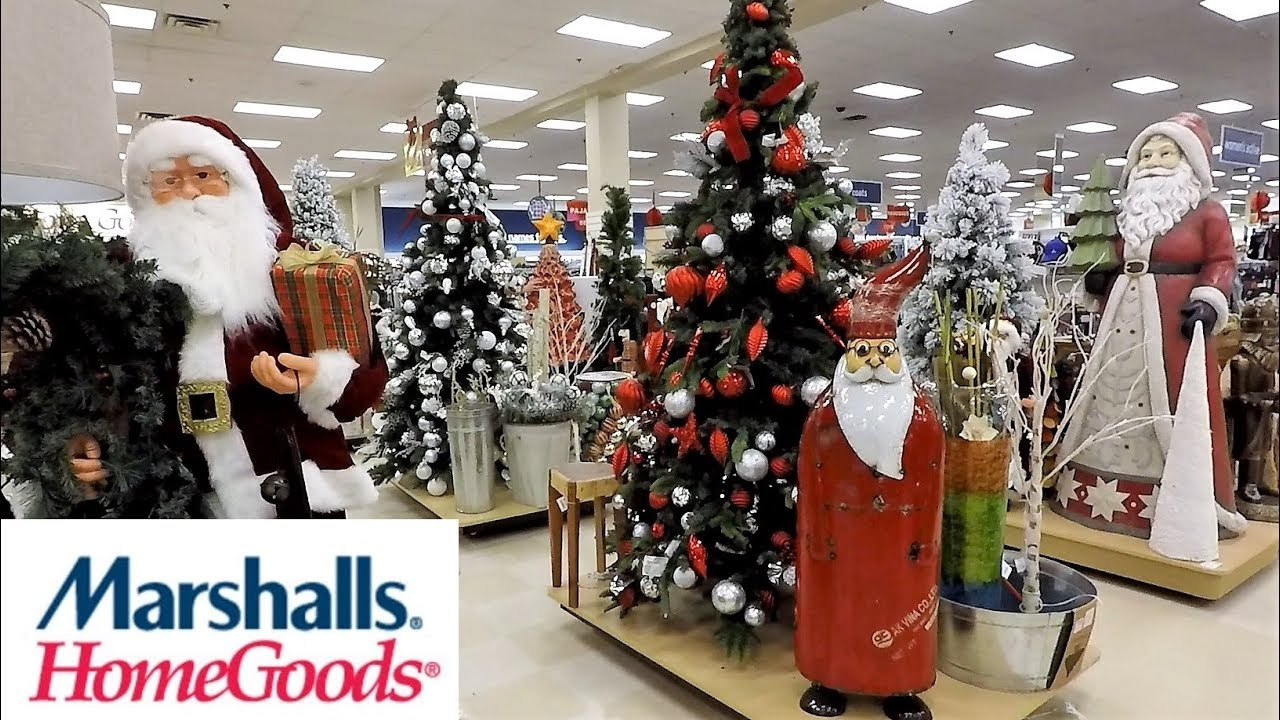 marshalls home goods christmas 2018 christmas trees decorations ornaments home decor