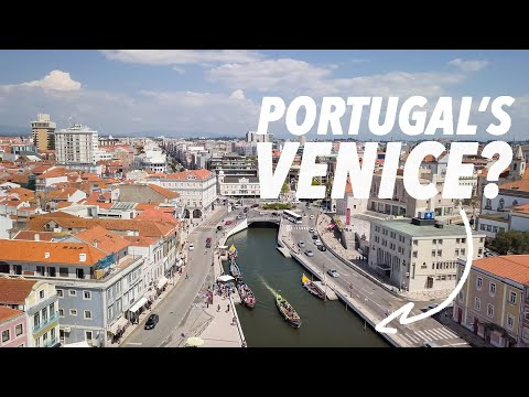 Exploring AVEIRO, the Venice of Portugal? (drone footage)