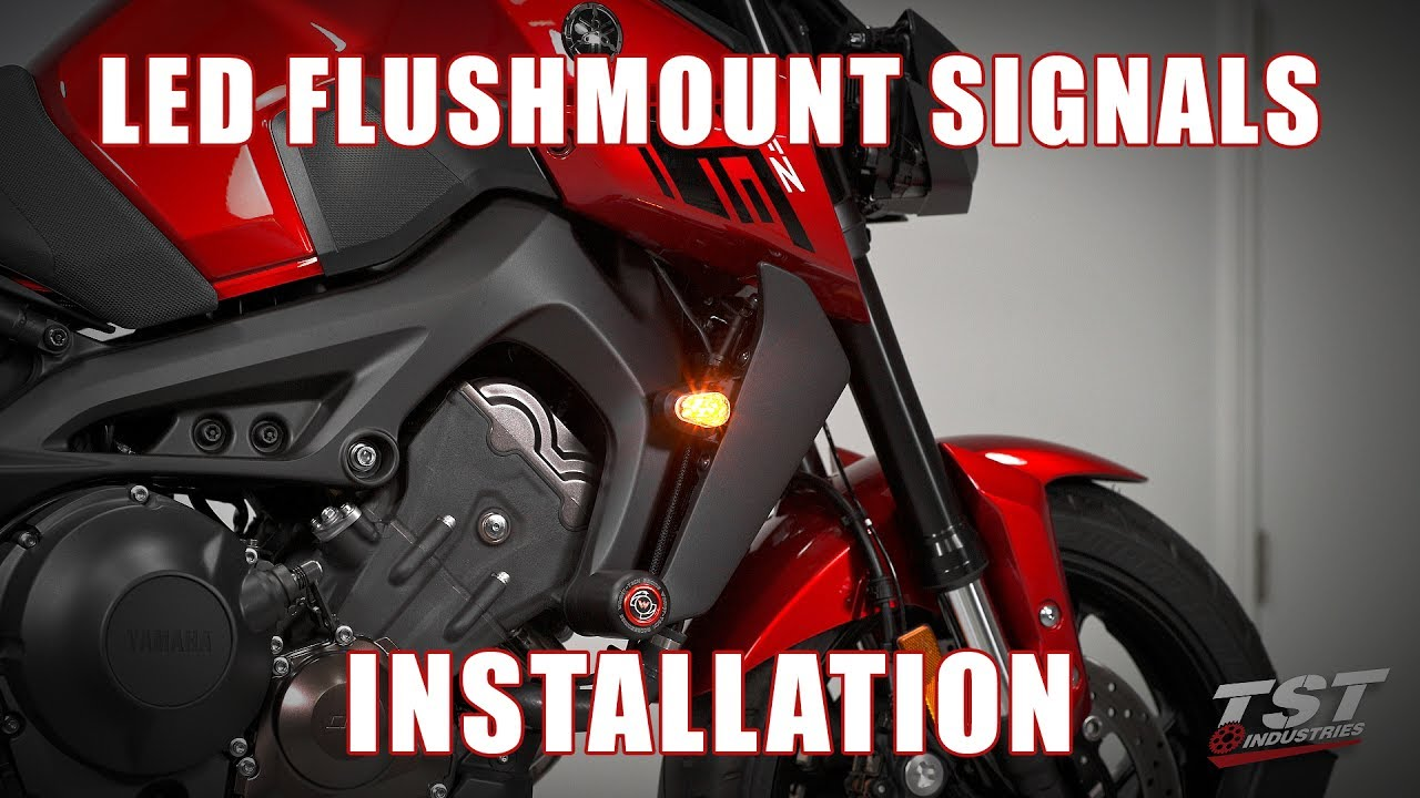 maxresdefault how to install led flushmount turn signals on a 2017 yamaha fz 09  at mifinder.co