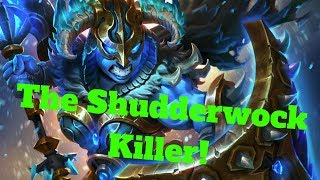 The Shudderwock Killer! Azalina Bring it On Combo! [Hearthstone Game of the Day]