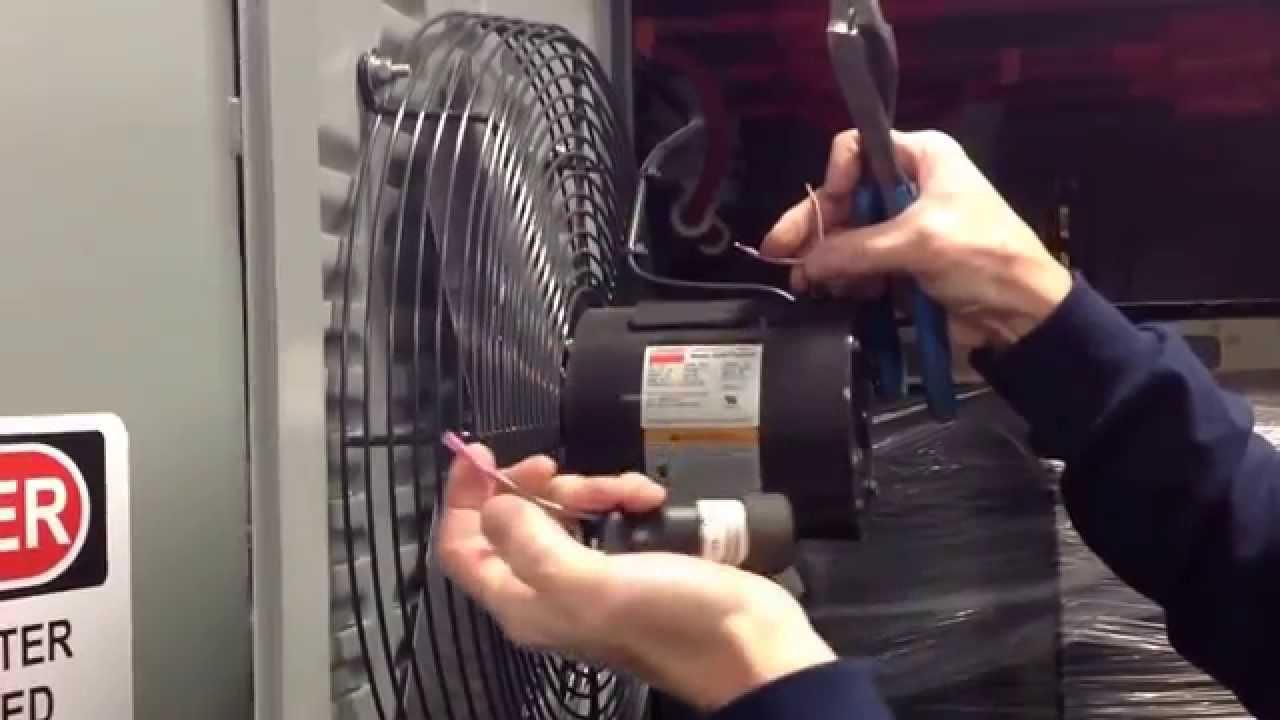 dayton fan motor start run capacitor replacement [ 1280 x 720 Pixel ]