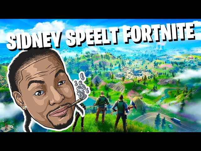 Sidney speelt live Fortnite speel je mee? - LIVE 🦠 Game sessie