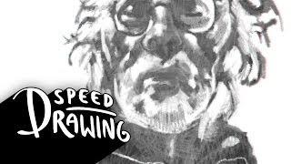 Nebraska 2014 Oscar Best Picture Poster Speed Drawing HD