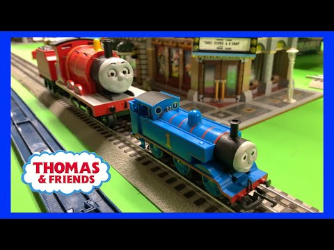 Thomas HO/OO Scale Trains on O Scale Track???