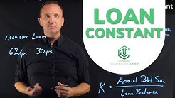 Loan Constant (Overview)