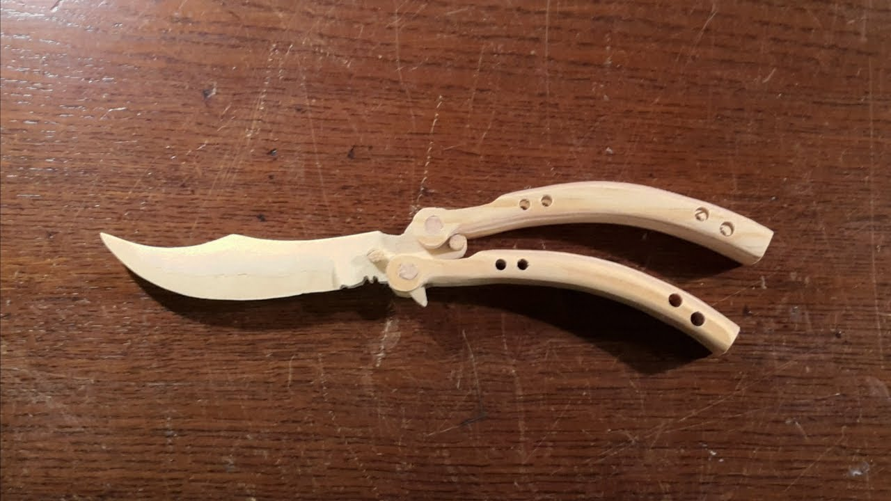 how to make the cs go butterfly knife free templates youtube