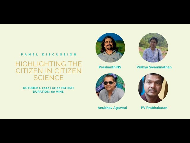 Highlighting the citizen in 'Citizen Science'