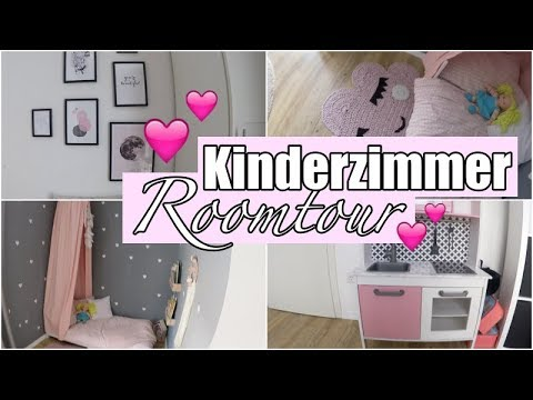 Kinderzimmer Roomtour I Mädchenzimmer I 12qm - YouTube
